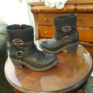 Harley-Davidson Morgan Pink Label boots